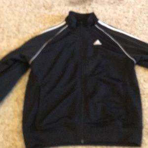 black/white adidas jacket size medium